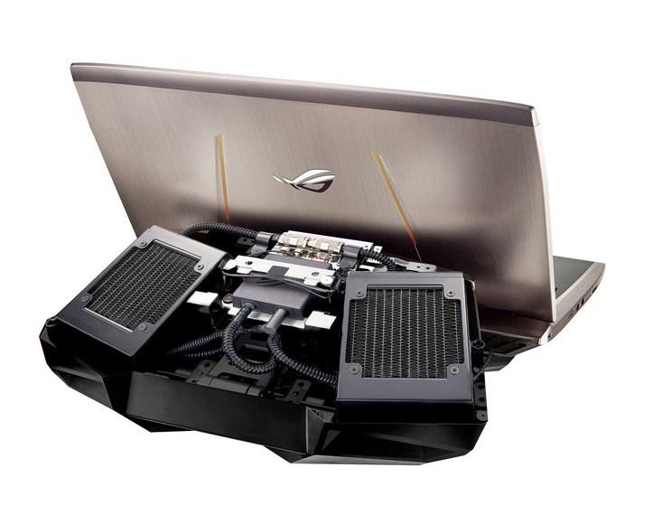 Игровой ноутбук с жидкостным охлаждением